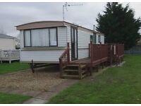 Fabulous cosy 2 bedroom 6 berth caravan