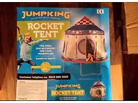 Rocket tent for 10ft trampoline. In excellent condition