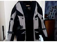 Motorcycle Jacket - Ladies/Textile Size XS