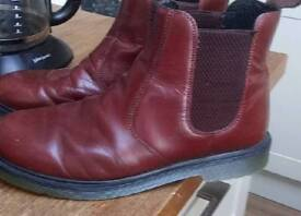 LEATHER DEALER BOOTS 8