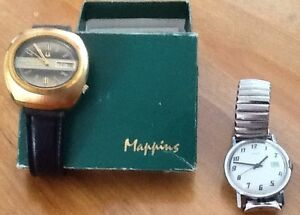 2 OLDER MENS WATCHES