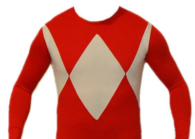 Ultimate Ranger Suit Power Red Costume XL (Read sizing - Power Ranger Suit