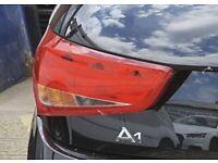 Genuine Audi A1 N/S (Passenger) Rear Light Cluster Complete