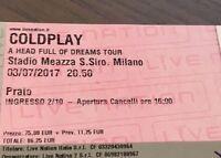 Coldplay Milano 3 Luglio - Biglietti Prato -  - ebay.it