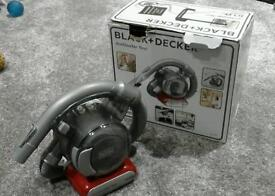 Black and decker battery vaccum cleaner.