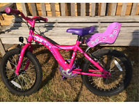 "Girls Apollo Star bike, 18"" wheels, suit 6-8 years"