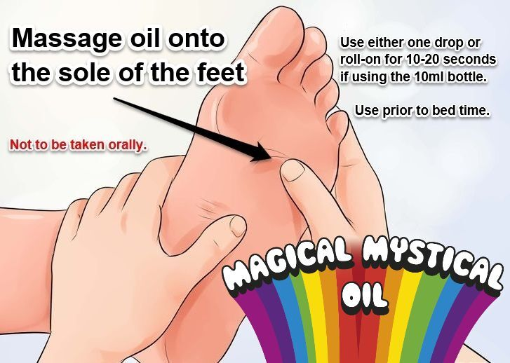 How to apply Magical Mystical Oil