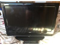"""Bush 32"""" inch LCD HD TV, Built in Digital Freeview, Original Remote. NO OFFERS"""