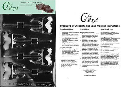 Tooth Lolly Chocolate Candy Mold In Sealed Poly Bag w/Instructions