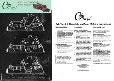 For Sale House Chocolate Candy Mold