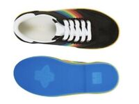 Gucci Sneaker with Rainbow Stripes todler size 22