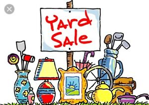 Multi family yard sale today!! May 19th 8am
