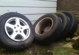 Jeep grand cherokee wheels and tyres