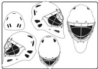 Artist Wanted - Donate time to paint a Goalie Mask