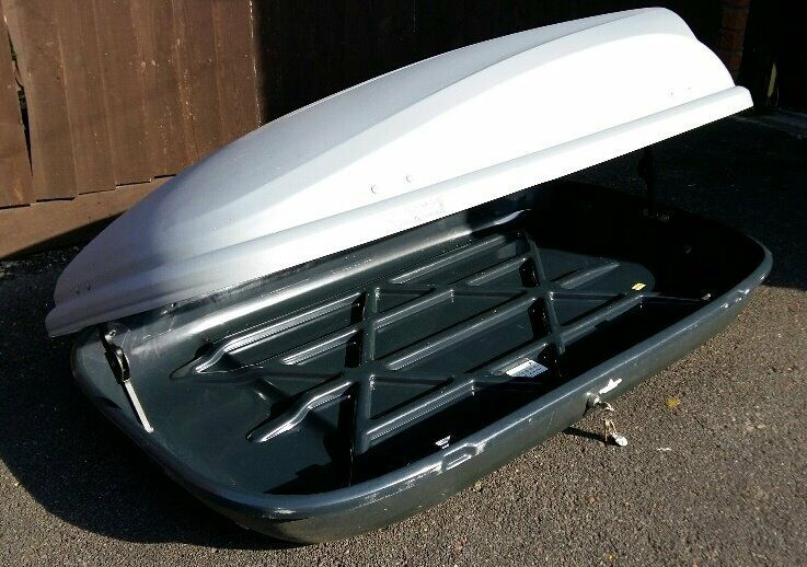 Car Roof Box Halfords Complete With Brackets Amp Roof