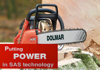 Fall Clearance instock Dolmar Chainsaws