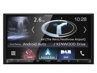 Kenwood car radio