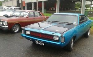 Chrysler VJ Valiant Charger with VH front South Mackay Mackay City Preview