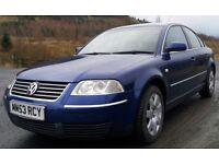 Volkswagen Passat, 2004. 1.9 TDI Sport 130bhp. 6 Speed. Low Mileage.55+ Mpg. MOT Dec17. Immaculate.
