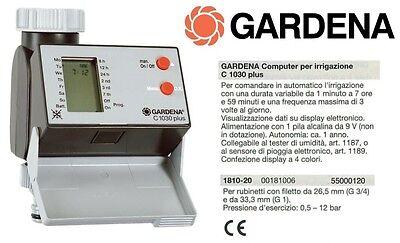 GARDENA Programmatore Computer Centralina per irrigazione C 1030 Plus