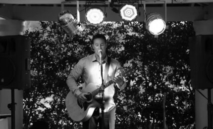 Acoustic guitar singer and DJ for weddings and events