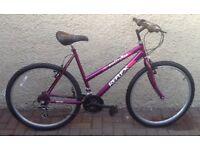 "Bike/Bicycle. LADIES REFLEX "" SOLITUDE "" MOUNTAIN BIKE"