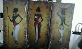 African Ladies Prints