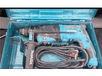Makita 240v sds drill with hammer action