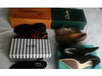 Size 4 shoes bundle, boxed, UNWORN