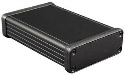 Hammond 1455c801bk Extruded Aluminum Case Enclosure Project Box