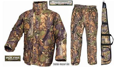 Jack Pyke Hunters Stealth Jacket, Trousers, Suit or Gun Slip in English Oak Camo