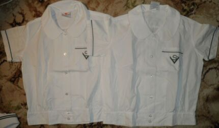 2xGirls Blouse - Size 14 - st Vincent primary school uniform Worongary Gold Coast City Preview