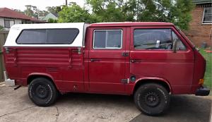 1991 Volkswagen Transporter Kombi Dual Cab Ute Lalor Park Blacktown Area Preview