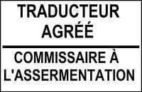 TRADUCTEUR AGRÉÉ : ARABE - FRANÇAIS - ANGLAIS (OTTIAQ)