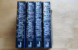 Beautiful Creatures 4x books