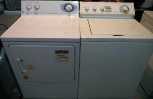 WHIRLPOOL WASHER AND GE DRYER FOR SALE!