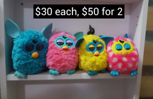 Interactive Furby Toys that talks and learn. $30 ea or $50 for 2