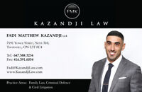 Lawyer for Traffic Tickets and Driving Offences | 647 588 3234 |