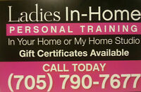 Ladies In Home Personal Training,Your Home Or My Home Studio