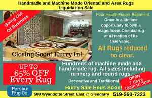 Going Out of Business Persian and Oriental Rugs Windsor Region Ontario image 2