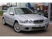 2008 JAGUAR X TYPE 2.0d S 2009 LEATHER, CRUISE and 17andquot; ALLOYS