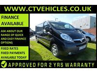 2013 13 Vauxhall Vivaro 2.0CDTi 115ps Sportive 2900 LWB TOP SPECK ALLOYS A/C