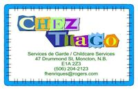 Garderie agree/Licenced Daycare  +10 annees/years experience