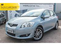 2008 TOYOTA AURIS 1.6 TR VVT-I 5 DOOR FULL SERVICE HISTORY 8 STAMPS 2 KEYS SUPPL