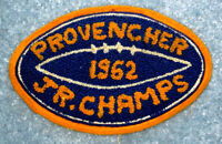 Provencher 1962 Manitoba Junior Football Champions Patch