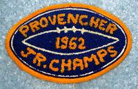 Provencher 1962 Manitoba Junior Football Champions Patch