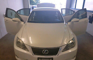 LEXUS IS 250 AWD Navi Bluetooth Backup Cam Heated Leather 2009