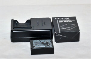 Fuji original NP-W126, NP-W126S Battery and Charger For Fuji.
