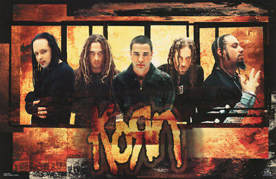 POSTER : MUSIC: KORN - ROUGH EDGES        FREE SHIPPING !!      #6233    RC38 X