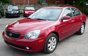 2007 Kia Magentis EX Full option (leather*sunroof)*4 cyl*NO RUST